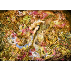 نخ و نقشه تابلو فرش آوای عشق