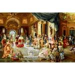 نخ و نقشه تابلو فرش عروسی پاپ